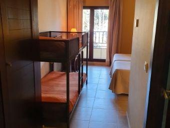 Habitación doble con litera