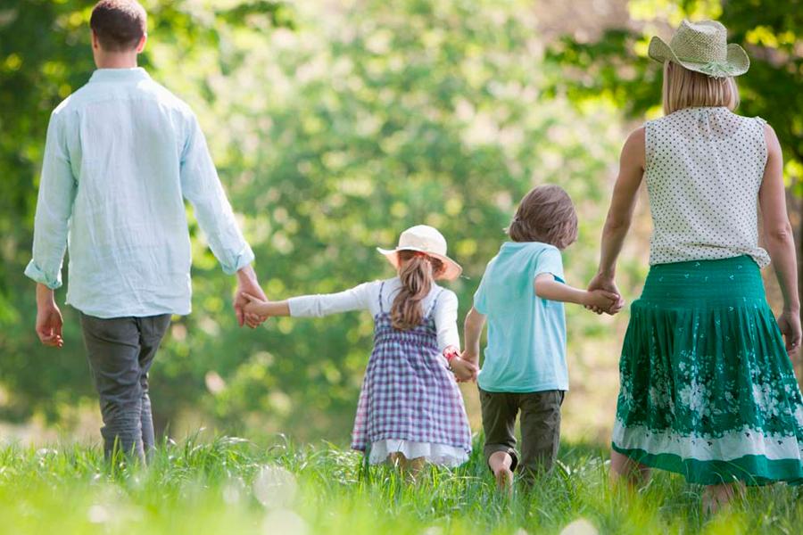 Donde hacer turismo rural en familia