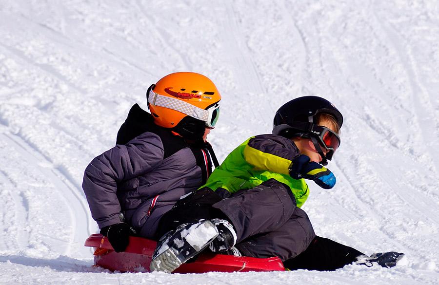 algunos consejos para ir a la nieve con ninos este invierno