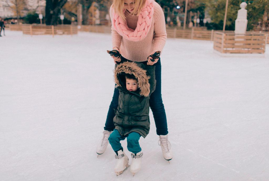 Deportes de invierno que practicar con tu familia