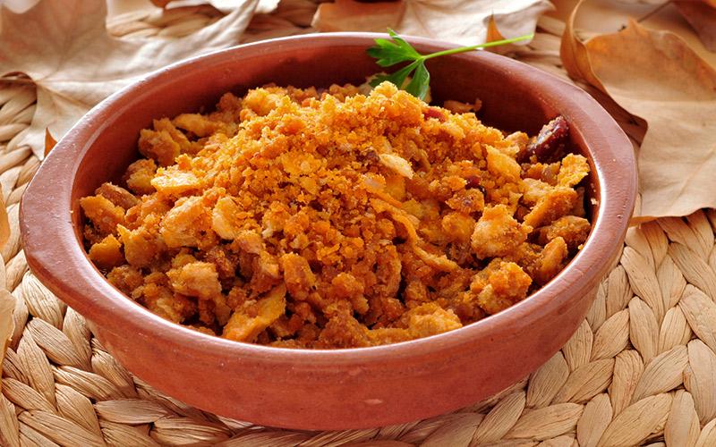 Receta: http://www.demoslavueltaaldia.com/receta/migas-manchegas