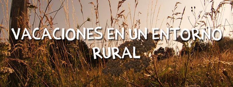 vacaciones entorno rural