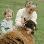 Granja rural y niños: la combinación perfecta